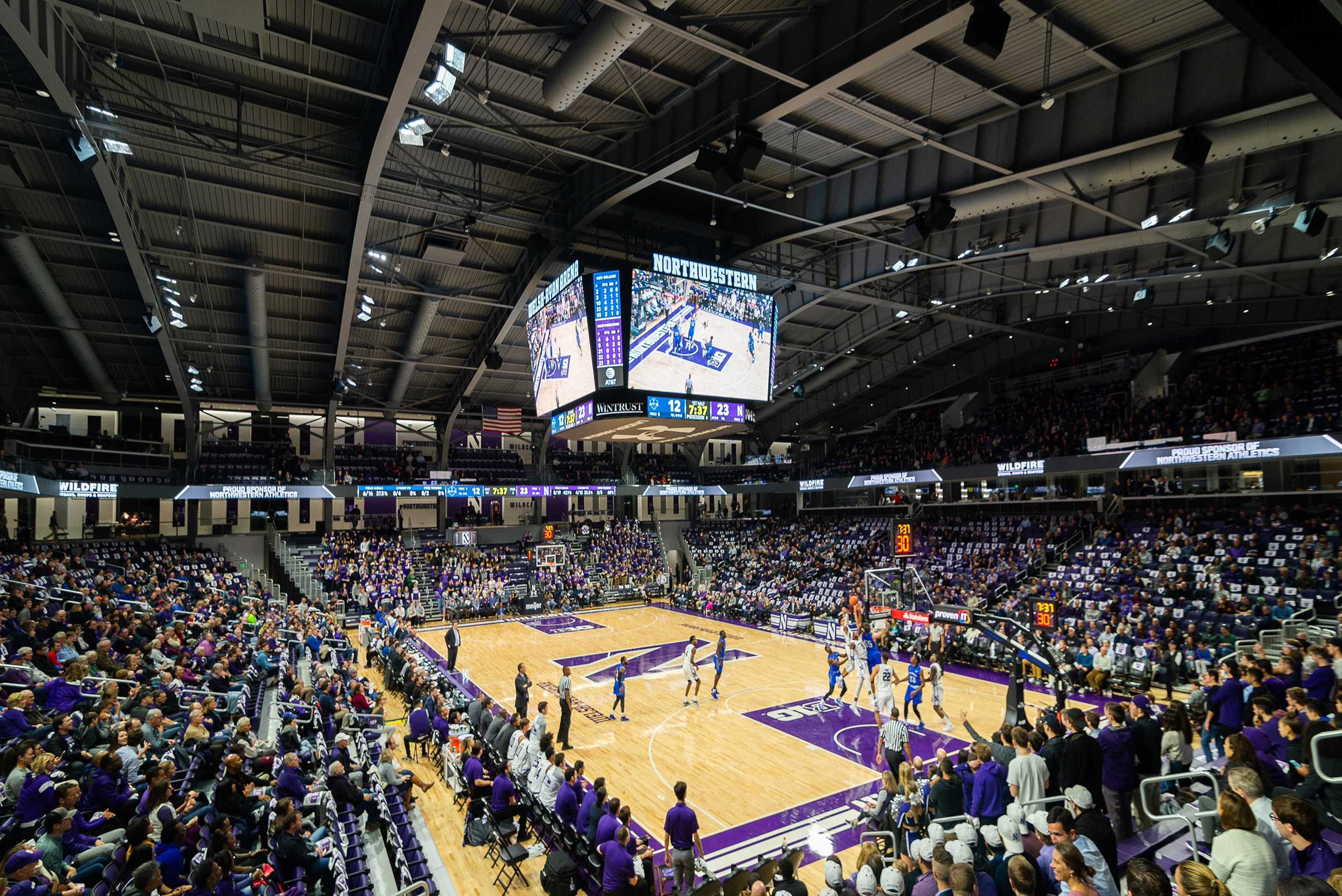 Northwestern University Welsh Ryan Arena On Behance Northwestern University Northwestern Arena