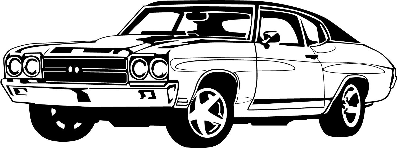 Car  black and white race car black and white clipart 4