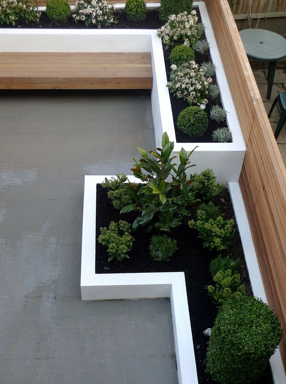 Hochbeet Mit Bank Architektur In 2018 Pinterest Garden Design