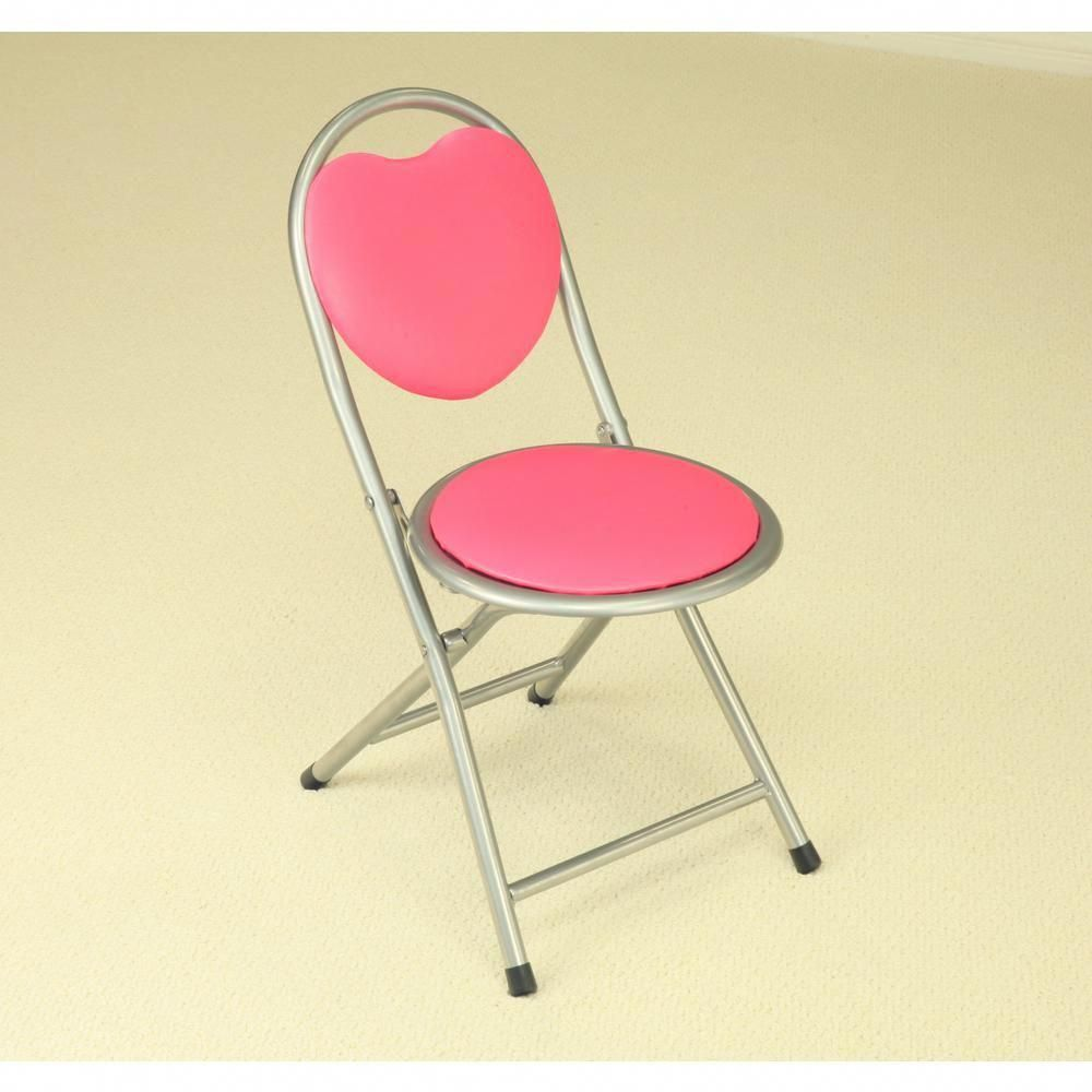 Super Homecraft Furniture Pink Folding Kids Chair Plk4007 Caraccident5 Cool Chair Designs And Ideas Caraccident5Info