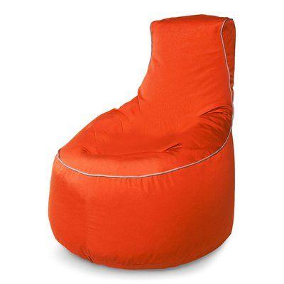 Tremendous Hip Chik Chairs Sunbrella Bean Bag Chair Upholstery Melon Frankydiablos Diy Chair Ideas Frankydiabloscom