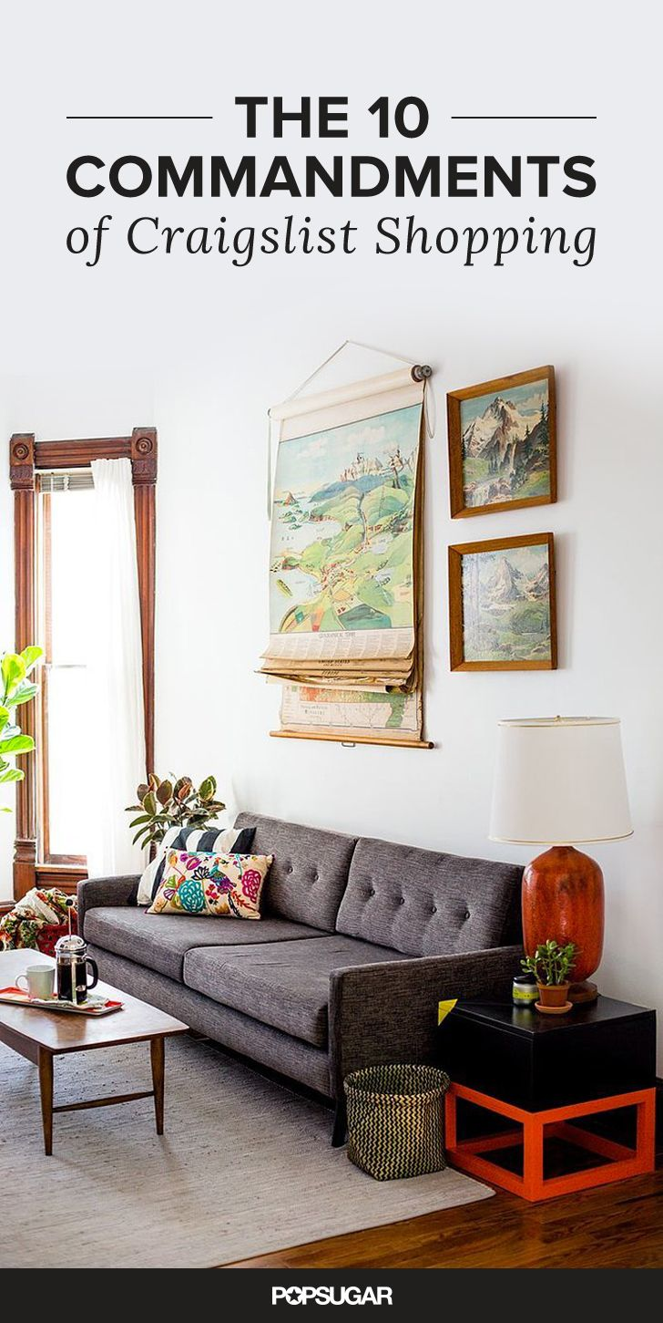The 10 Commandments Of Buying Furniture On Craigslist Cute Living Room Home Living Room Living Room Decor