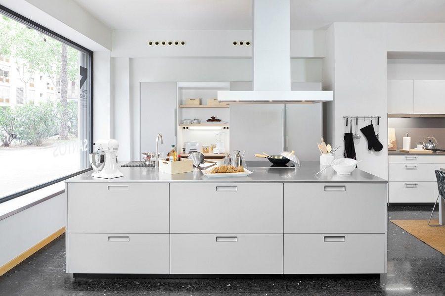 Cocinas de diseño en Barcelona la isla de las cocinas de diseño - cocinas con isla