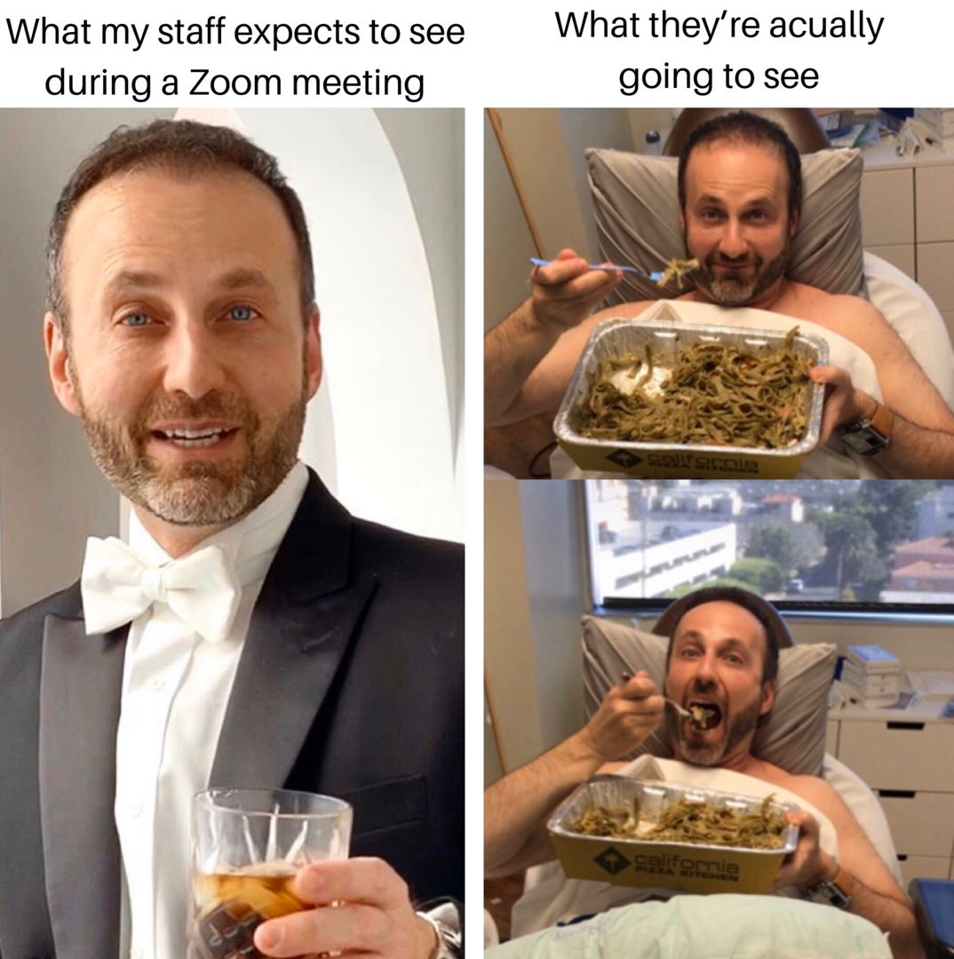 Typical Zoom Meeting At Westside Aesthetics Funny Memes Weekend Meme Work Memes