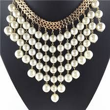 3f7c07ef93d9 Resultado de imagen para collares de cristal y perlas