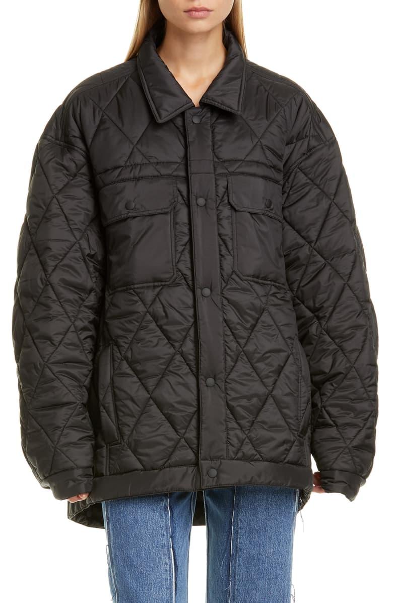 Maison Margiela Quilted Matte Puffer Jacket Nordstrom Puffer Jacket Style Jackets Puffer [ 1196 x 780 Pixel ]