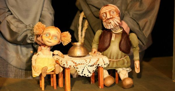 "Спектакль ""Серебряно - Спектакль ""Серебряное копытце"" --- #Theaterkompass #Theater #Theatre #Puppen #Marionette #Handpuppen #Stockpuppen #Puppenspieler #Puppenspiel"