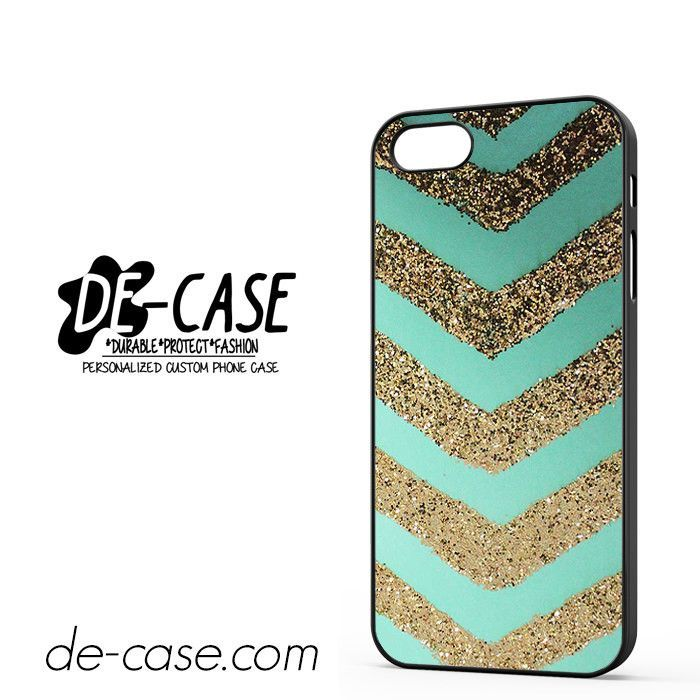 Chevron Gold Glitter DEAL-2533 Apple Phonecase Cover For Iphone 5 / Iphone 5S