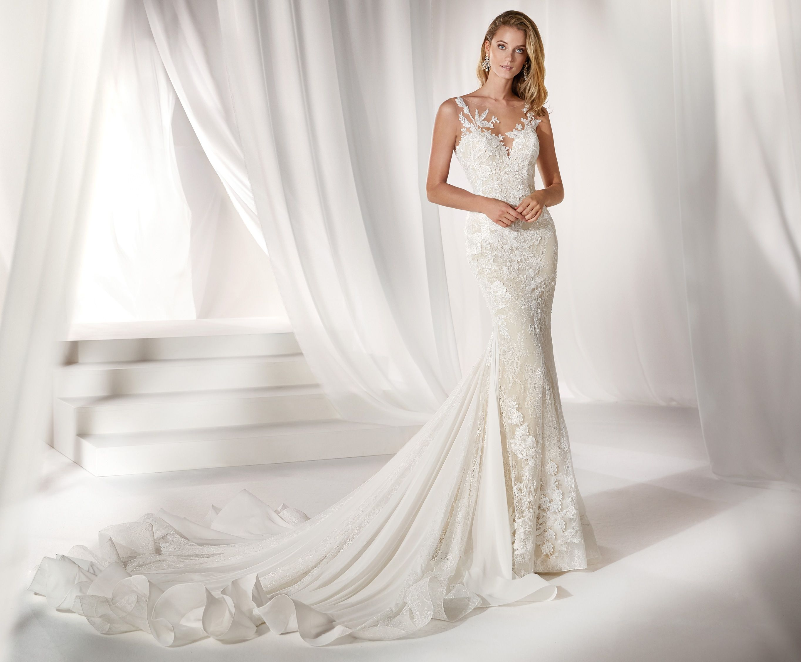 Moda Sposa 2019 Collezione Nicole Niab19040 Abito Da Sposa Nicole Wedding Dresses Italy Wedding Dress New Wedding Dresses