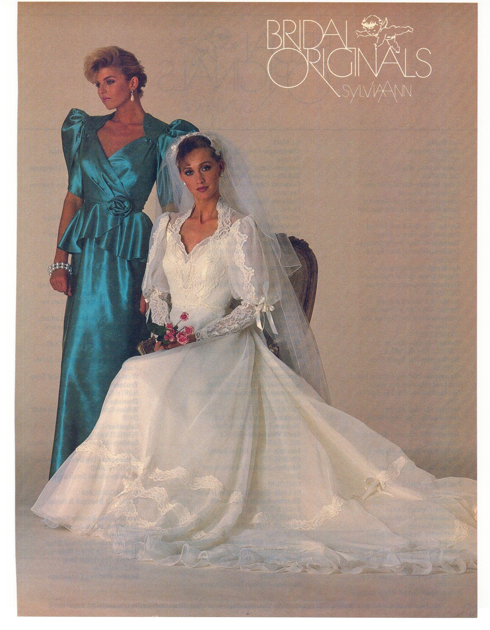 1985 Bride S Magazine Wedding Gowns Vintage Bridal Gowns Vintage Dramatic Wedding Dress [ 2187 x 1700 Pixel ]