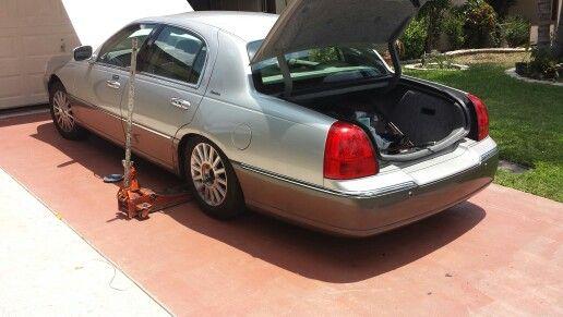 2003 Lincoln Town Car Rear Suspension Sagging Mobile Auto Repair
