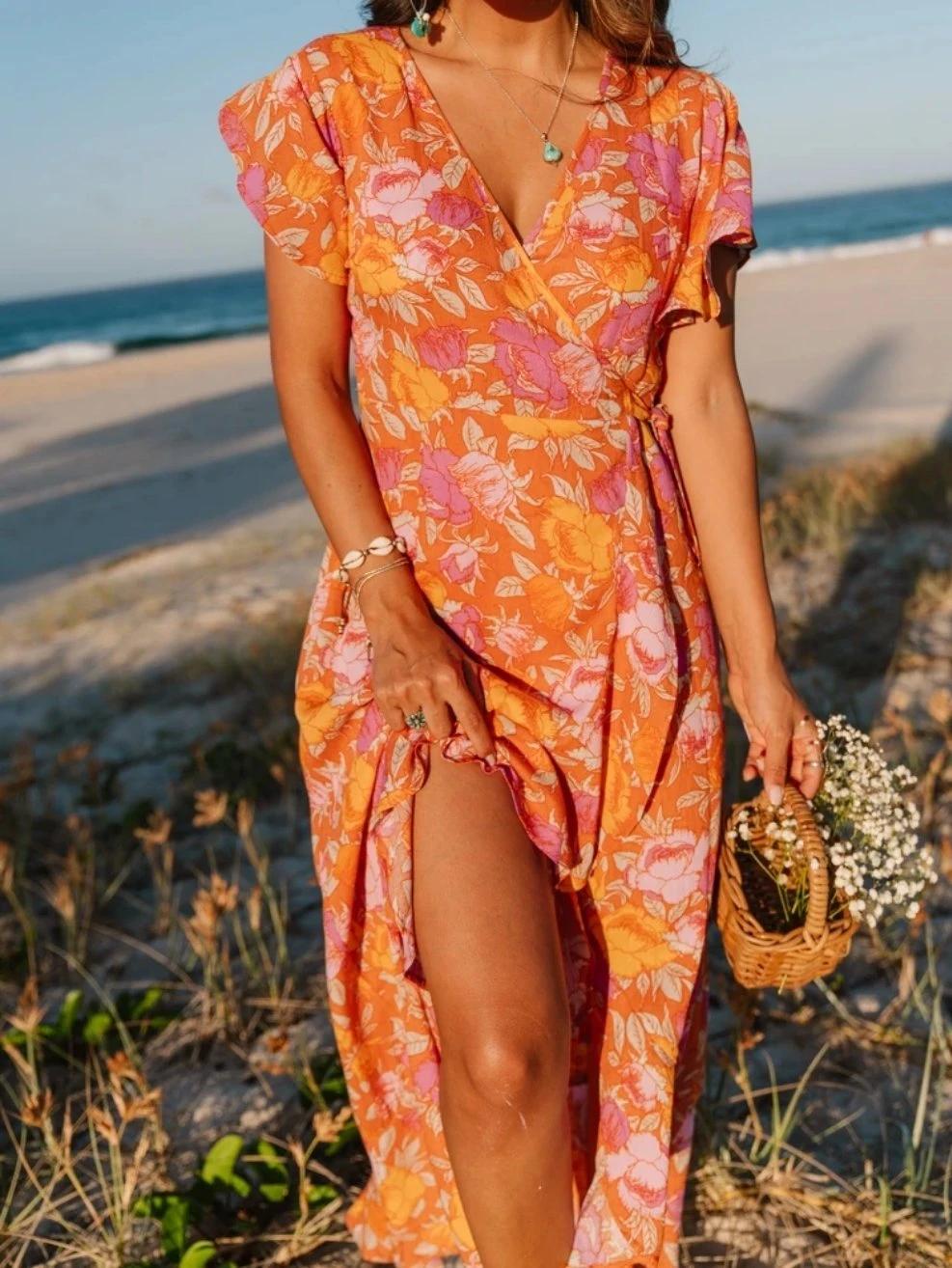 La Floridita Wrap Dress Wrap Dress Wrap Dress Floral Dresses [ 1314 x 987 Pixel ]
