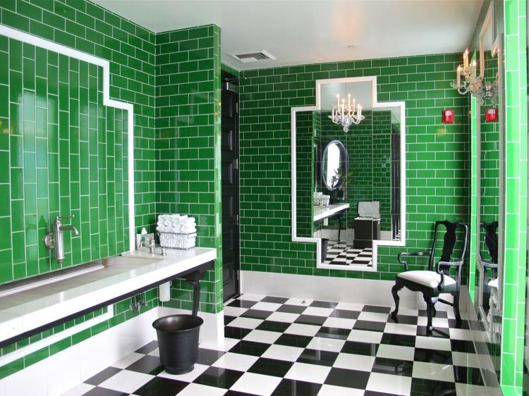 Farbideen Badezimmer ~ Metro fliesen verlegen in bad küche farbideen für authentische