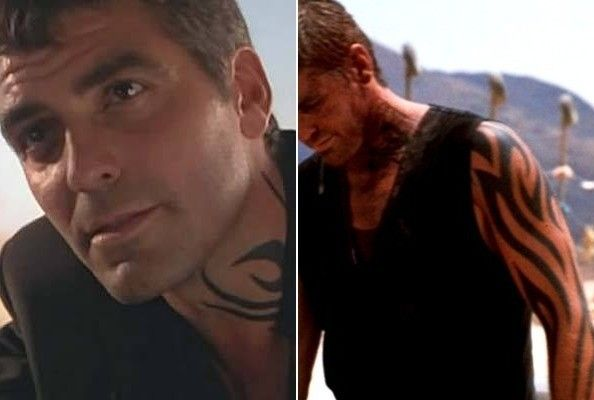 39 from dusk till dawn 39 cool celebrity tattoos pinterest dusk till dawn george clooney and dusk. Black Bedroom Furniture Sets. Home Design Ideas