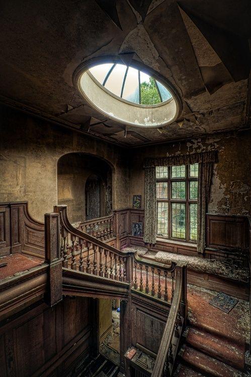 Italian Food Near Me Abandone Building Casa: Potter's Manor House. Crowborough, Sussex, U.K.