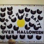 Halloween Bulletin Boards #halloweenbulletinboards Halloween Bulletin Boards #fallbulletinboards