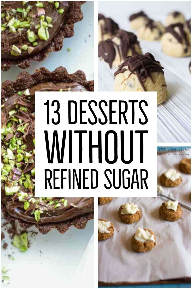 Refined SugarFree Desserts • 13 Recipes Free of Refined Sugar is part of Gluten free desserts recipes - These 13 Refined SugarFree Desserts are also gluten free, dairy free, soy free, and egg free  A lot of the recipes are suitable for vegans but please check the ingredients carefully  These are the perfect desserts for your sugar cravings that won't leave you feeling sick