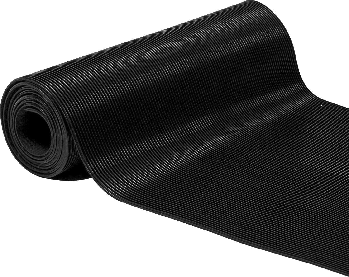 Herco 2 X 3 All Purpose 1 8 Corrugated Rubber Mat Black Learn More By Visiting The Image Link This Is A Dog Kennel Designs Rubber Mat Funny Doormats