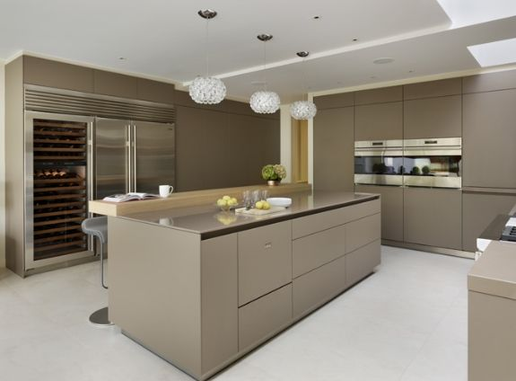Modern family living: kitchen architectures bulthaup b3 furniture