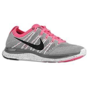 cheaper 39cf9 d62bf Women s Nike Flyknit Lunar 1+ Pure Pink Black Dark Grey Pink Flash   Orange  Soles