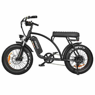 (Ad)eBay Link – Addmotor MOTAN M-60 P7 Electric Beach Fat Cruiser Bike Retro 750…