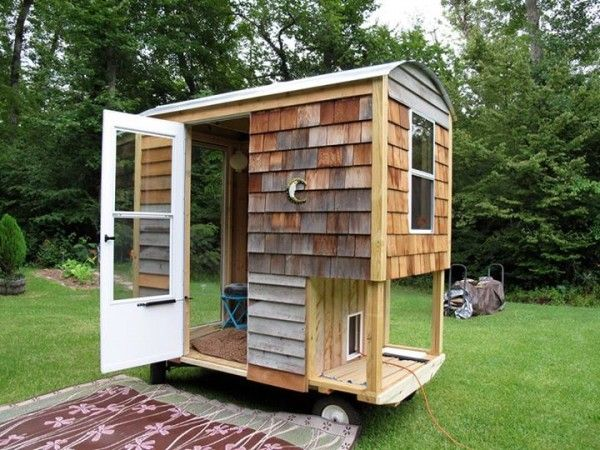Micro Shelter on Wheels To connect with us and our community of