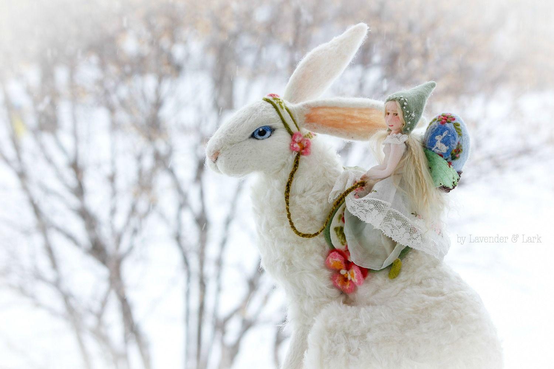 Fairy riding bunny~ ~ Briar & the Hare —