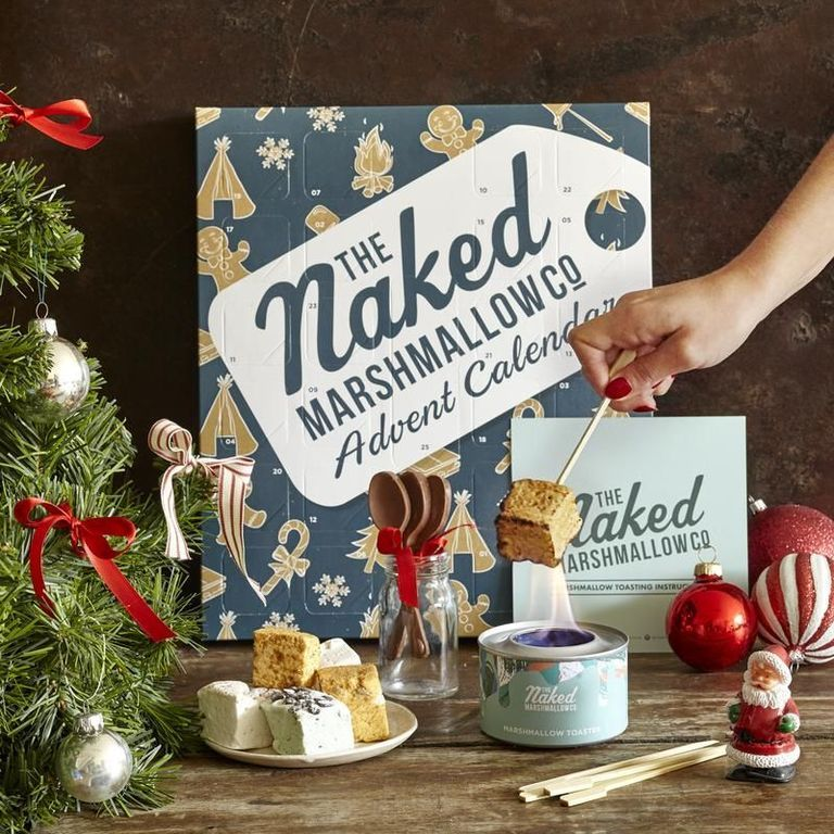 This Advent Calendar Is Full Of 25 Different Flavors Of Jerky For You To Try In 2020 Gourmet Marshmallow Chocolate Advent Calendar Hot Chocolate Drinks