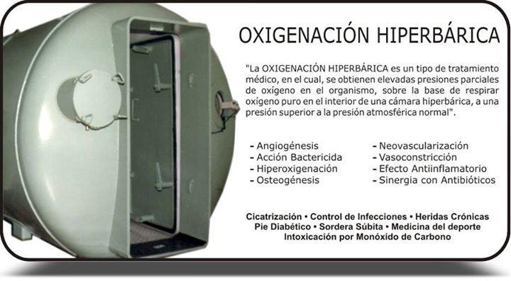 Son muchos los beneficios de la oxigenación hiperbárica! - http://ift.tt/1ipRjKg -