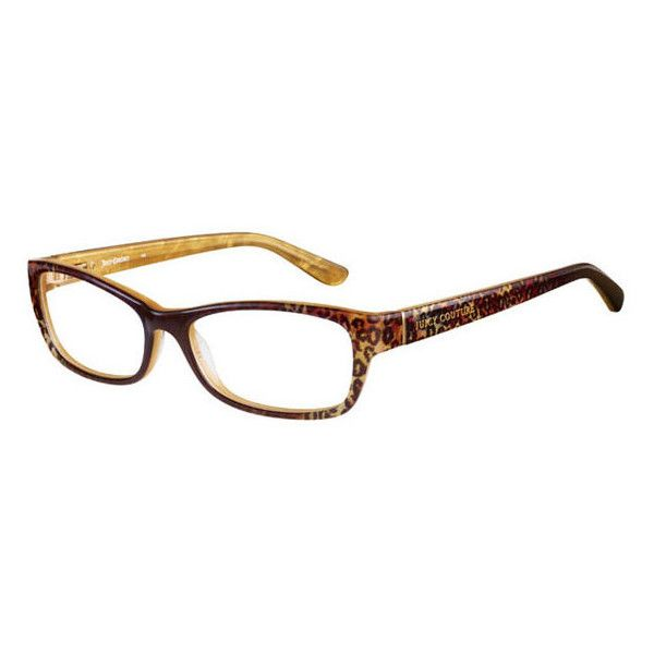 8625c3cfb1 Juicy Couture JU 131 JUF Eyeglasses ( 98) ❤ liked on Polyvore featuring  accessories