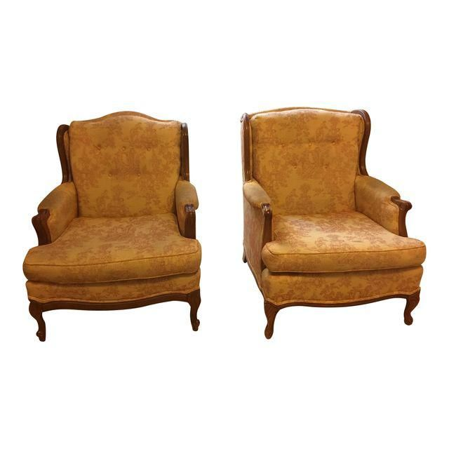 vintage french country accent chairs a pair french style chairs