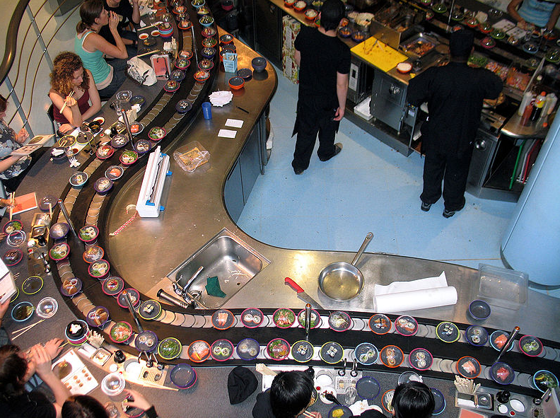 40% OFF Conveyor Belt Food @ YO! Sushi Various Postcodes  http://www.myvouchercodes.co.uk/yo-sushi