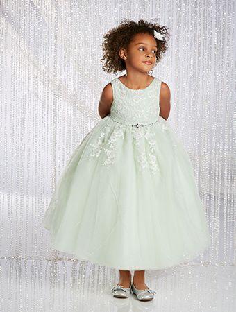 Alfred angelo flower girl dress