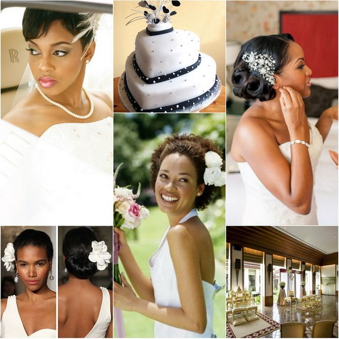 Wondrous 1000 Images About Wedding Hair On Pinterest African American Short Hairstyles Gunalazisus