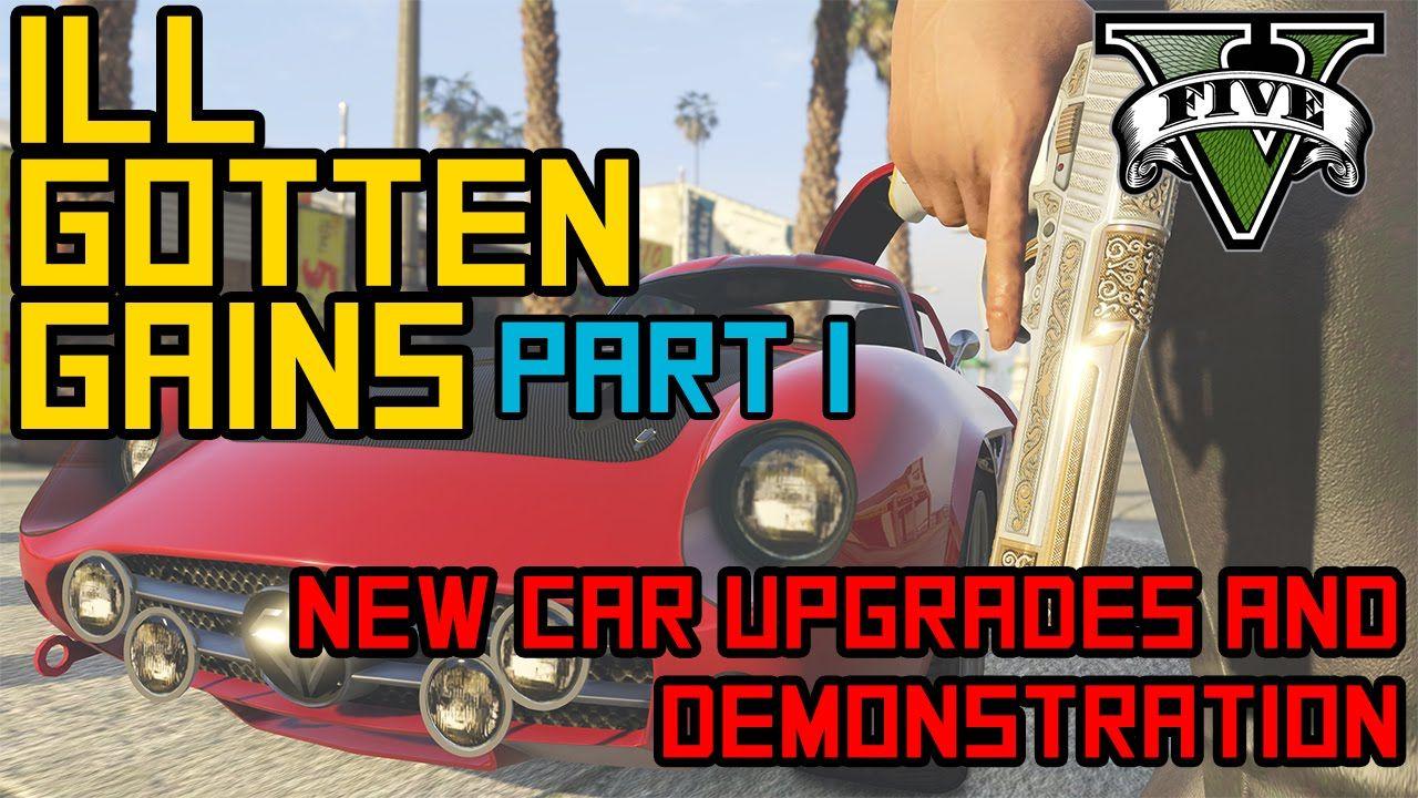 Gta 5 ill gotten gains dlc car customization and