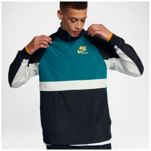dbab8ba64924 Nike Half-Zip Woven Archive Jacket - Men s
