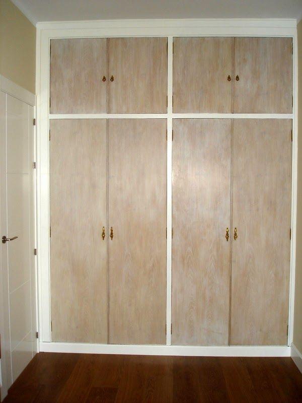 El desv n de los trastucos armario renovado y empapelado - Ideas para decorar un armario por fuera ...