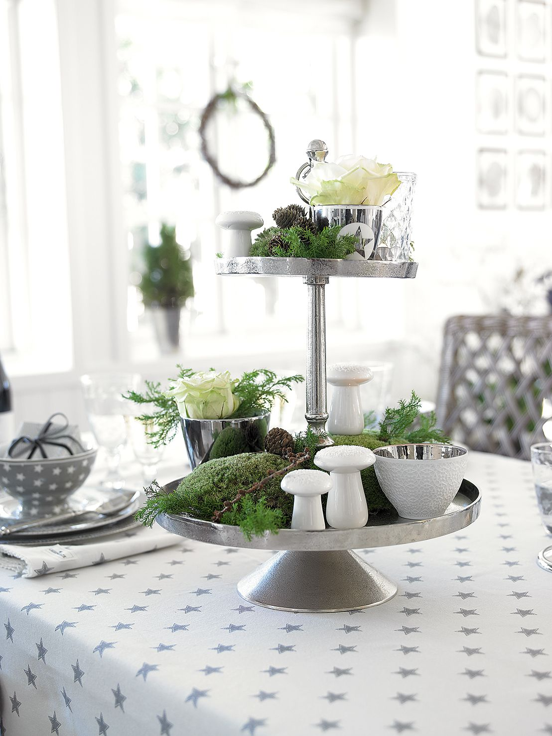 etagere aus metall silber green gate herbst winter 2014 2015 pinterest herbst herbst. Black Bedroom Furniture Sets. Home Design Ideas