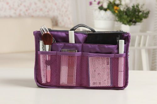 Travel Insert Organizer Handbag Purse Large liner WomenLady Makeup Organiser Bag | eBay