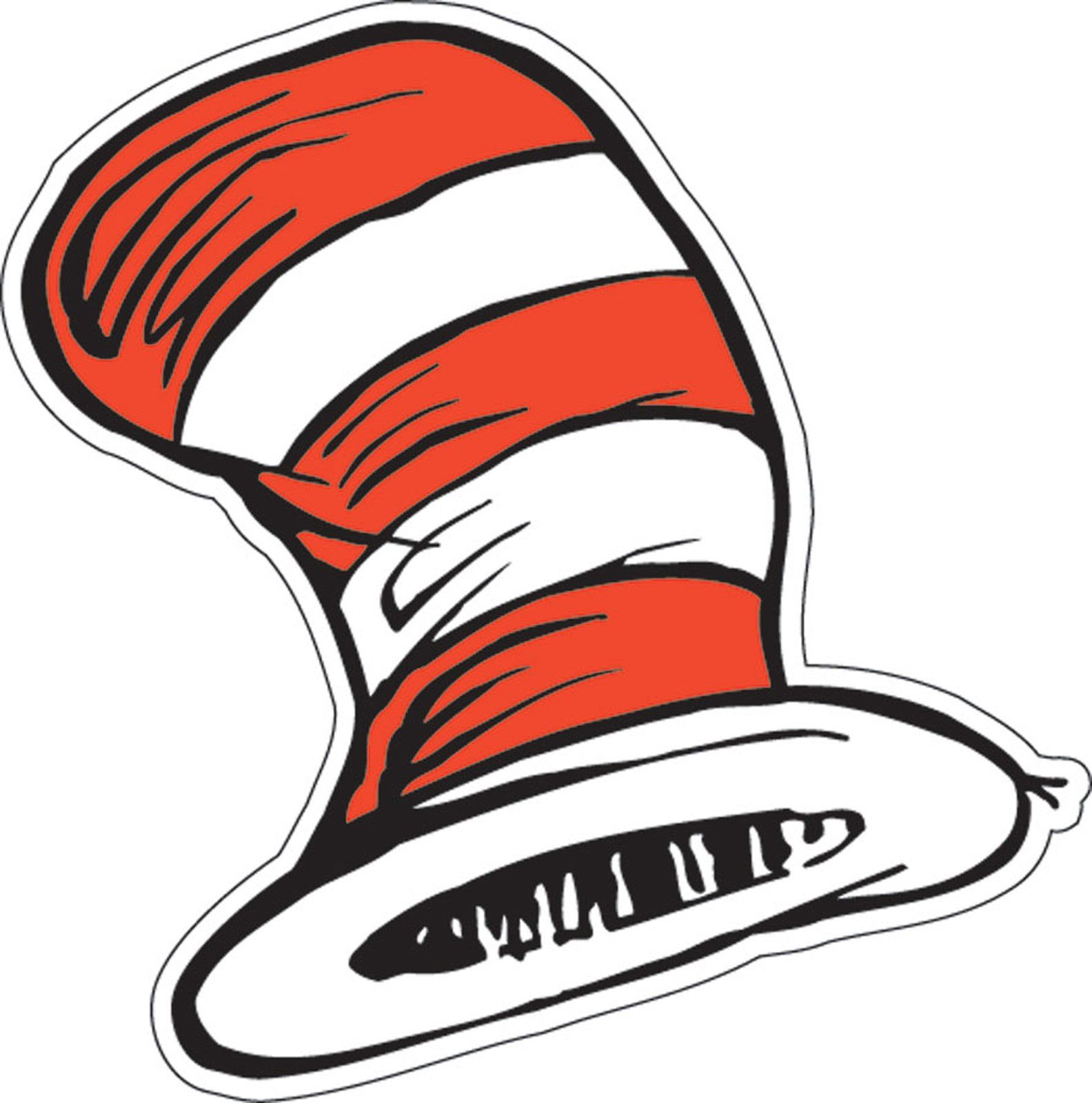 Dr. Seuss The Cats Hat Cutouts   Bibliotecas