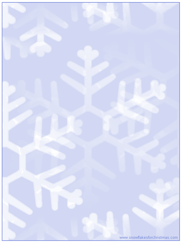 free printable christmas snowflake stationery school pinterest