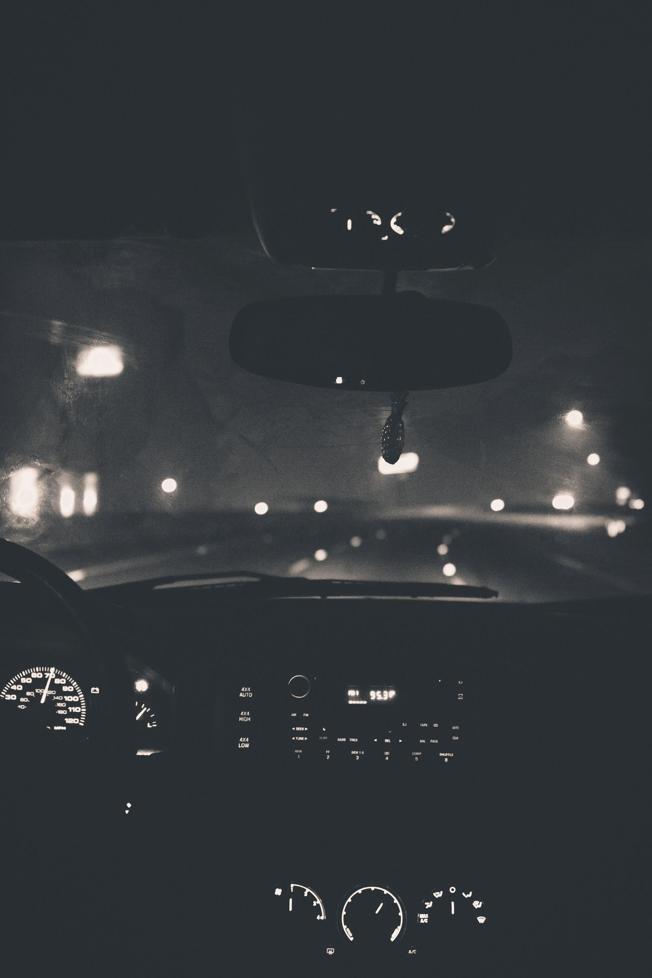 Nighttime drives a time for venting rocking out letting off some steam and sometimes just having a good cry