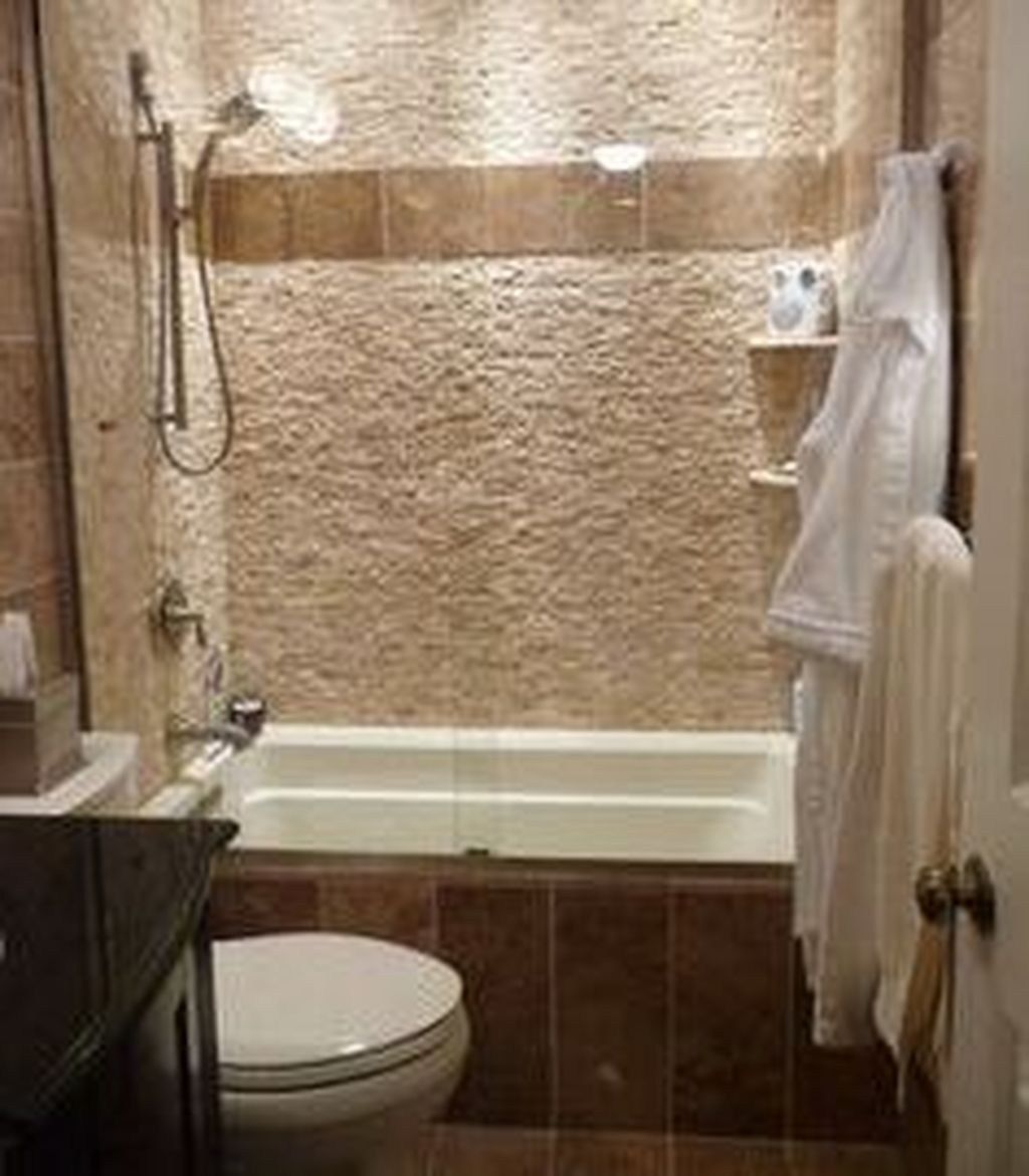 Stunning Small Bathroom Tub Shower Combo Remodeling 34 In 2020 Bathroom Tub Shower Combo Shower Tub Tub Shower Combo Remodel