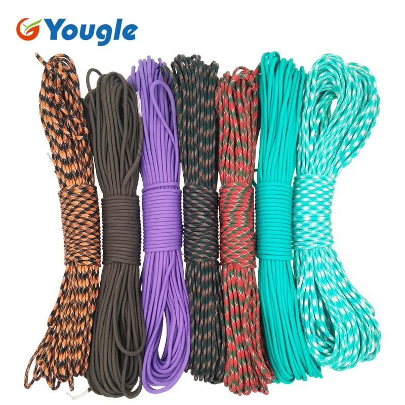 Yougle Paracord 550 100ft Paracord Rope Mil Spec Type Iii 7