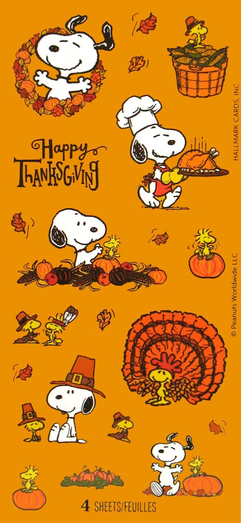 Hmstickers663 Jpg 800 1739 Snoopy Wallpaper Thanksgiving Snoopy Peanuts Wallpaper