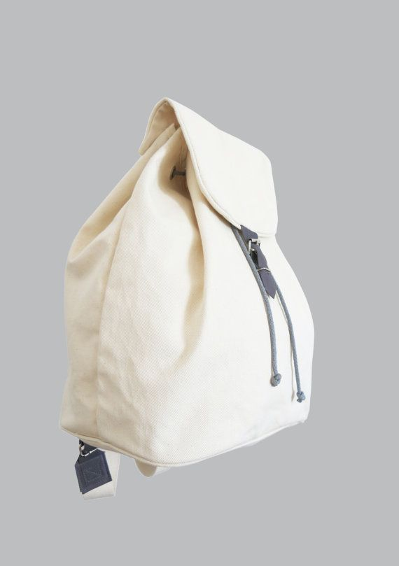 sewing tutorial with sewing pattern for a backpack with drawstring ...