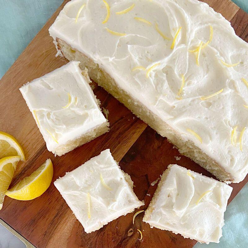 Easy Lemon Cake Recipe Recipe In 2020 Easy Lemon Cake Recipe Lemon Cake Easy Cake Recipes