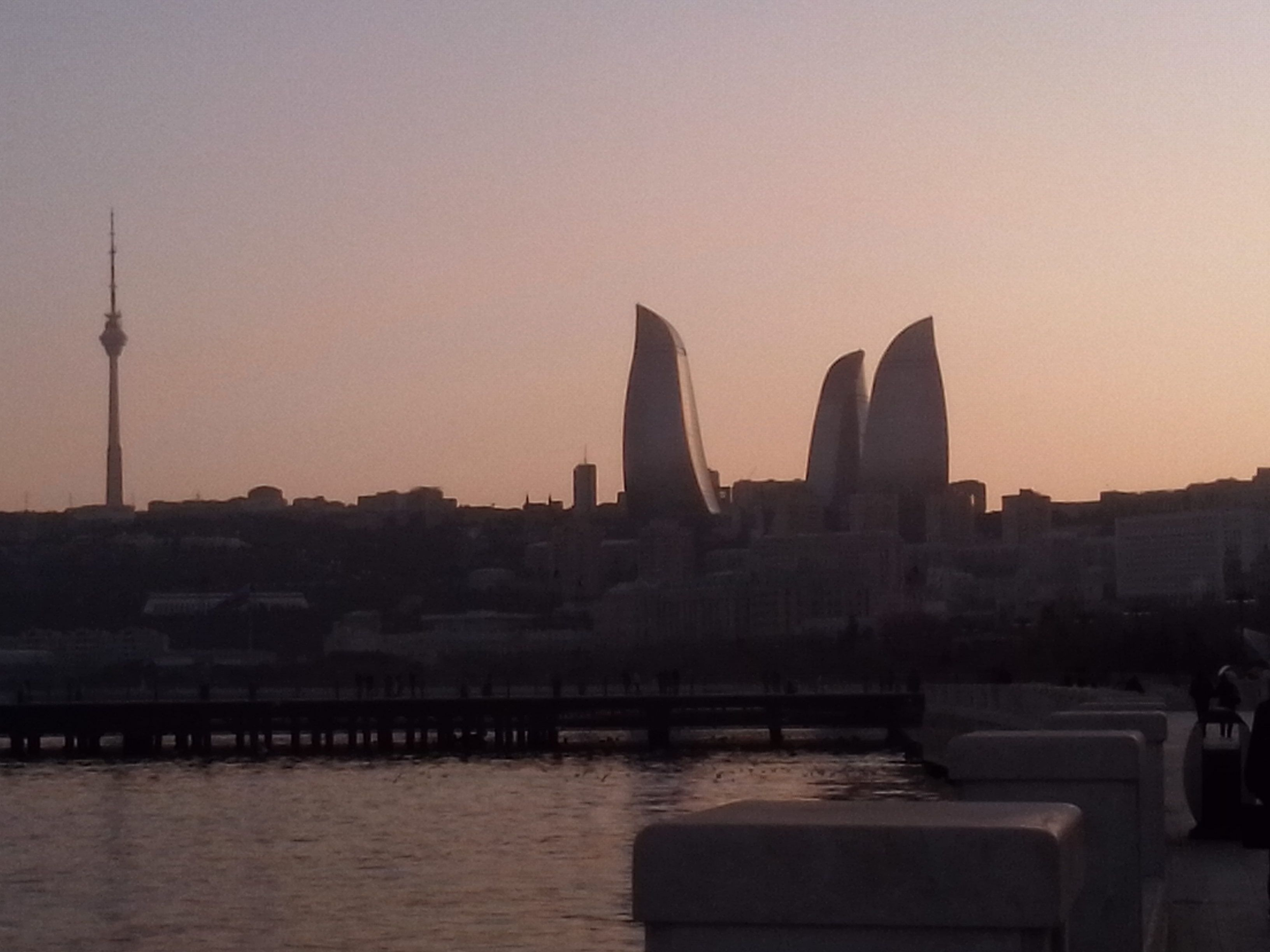 Baku, Three fire!