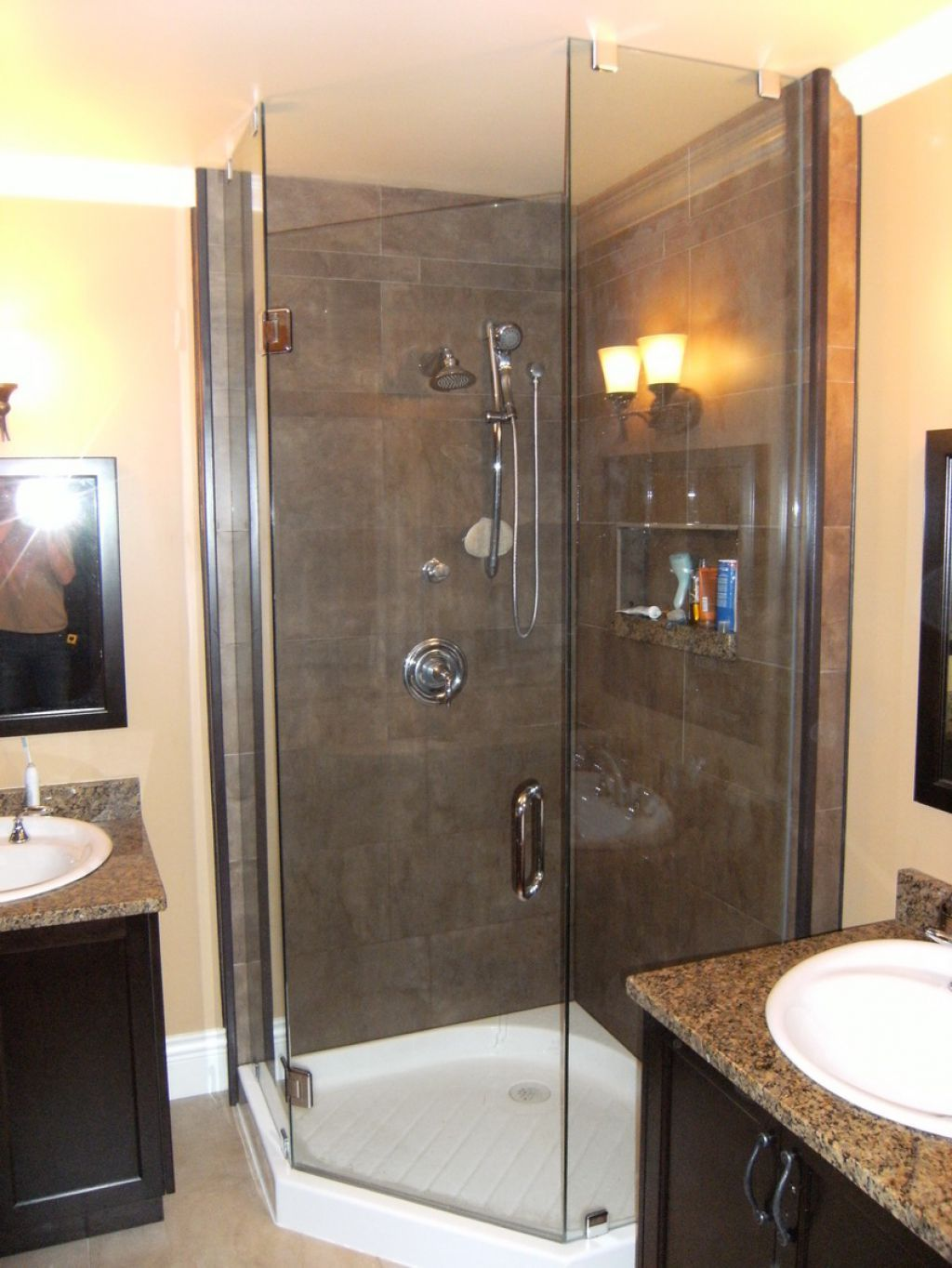 Bathroom Neo Angle Shower Stall | Neo angle shower, Contemporary and ...