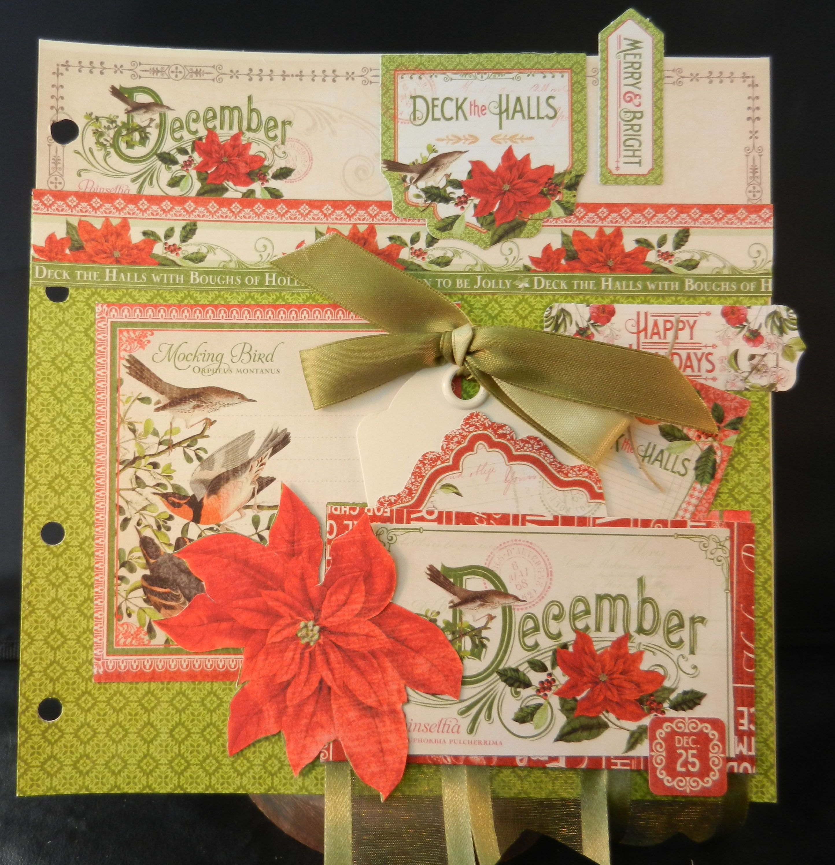 December Page -  A time to Flourish by Jan Kruger